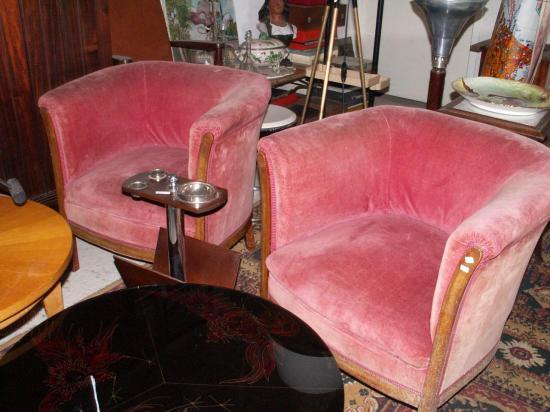 fauteuils tonneau ( VENDU )