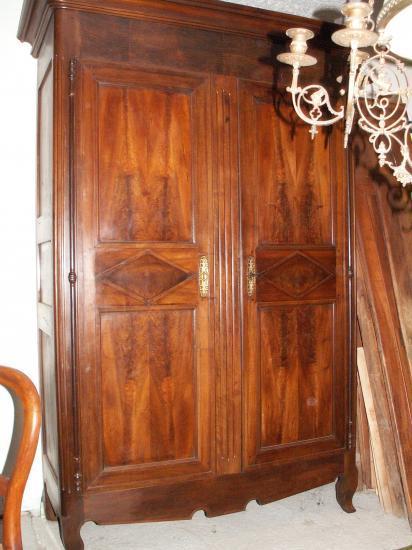 petite armoire louis xv en chêne